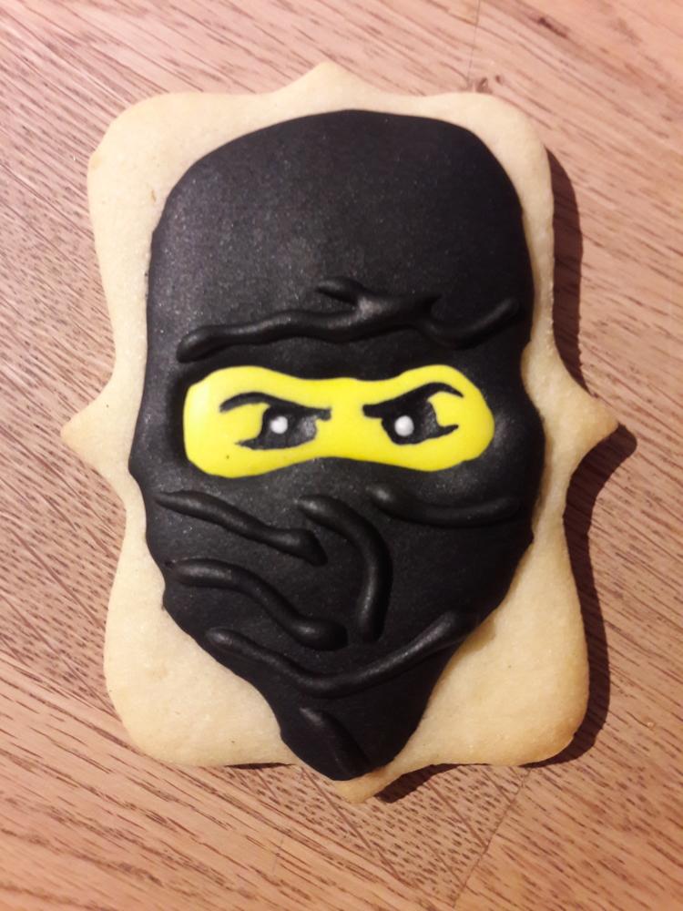 Ninjago Birthday Cookies