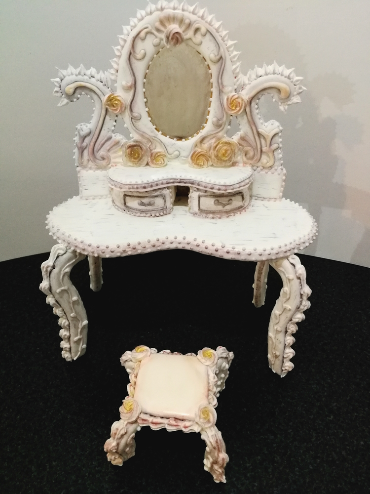 Dressing Table by Maribel Contreras
