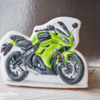 Motorcycle Cookie by Peony Cookie Studio