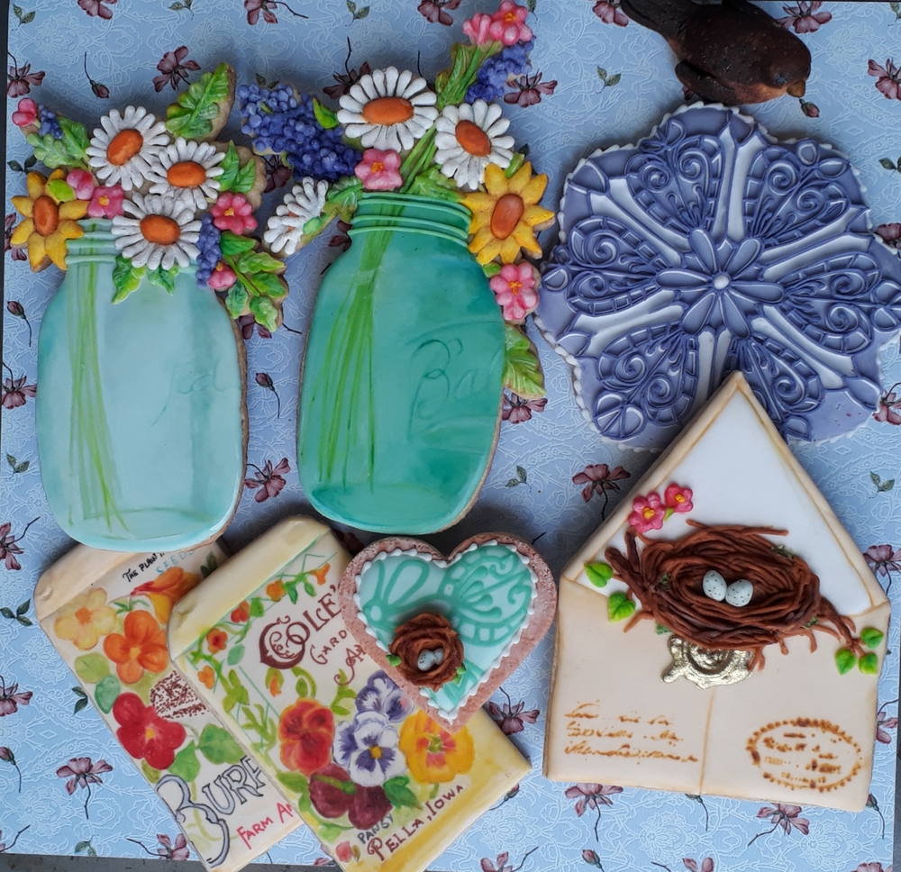 Flower Market Cookies