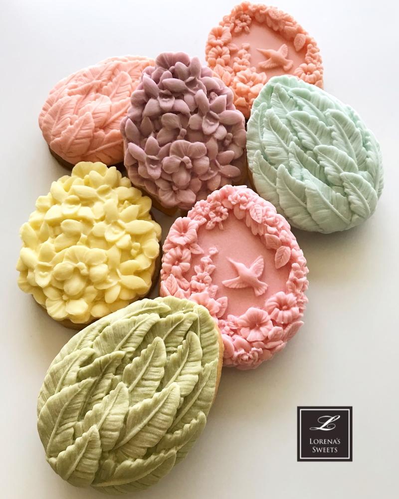 Lorena Rodriguez. Easter eggs cookies