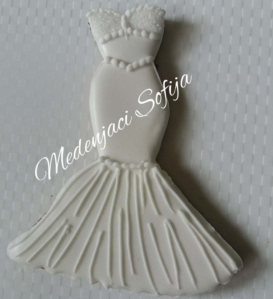 Wedding dress - fishtale style
