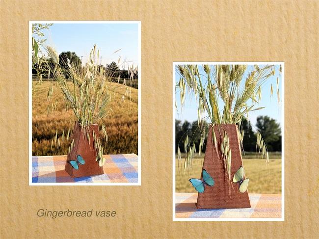 Gingerbread vase