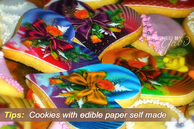 Cookies with Handprinted Edible Paper: A Mini Tutorial