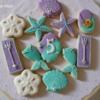 """""""Mermaid"""" theme cookies"""