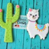 Cactus y Llama