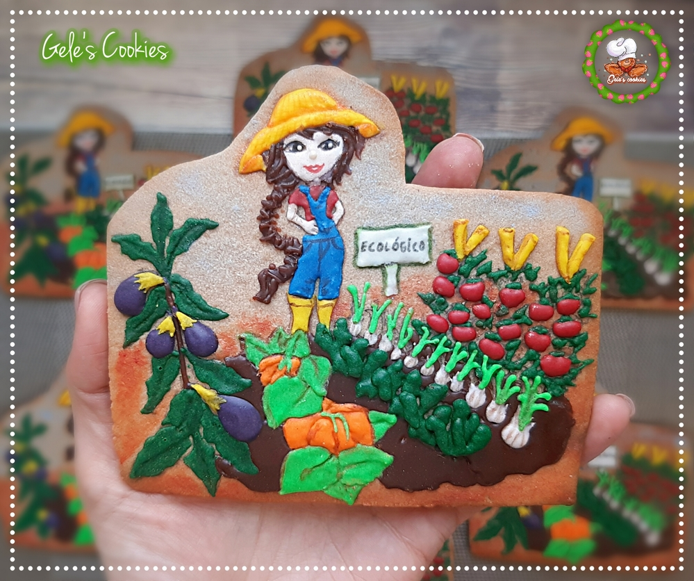 Orchard cookies (farmer woman)