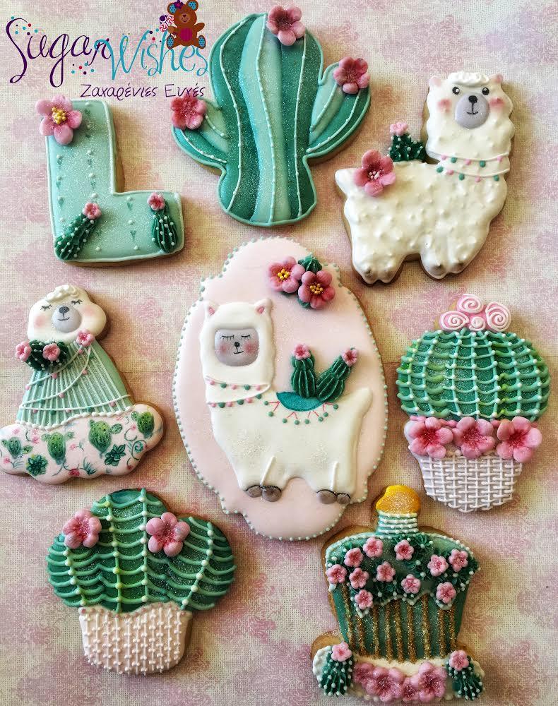 Llama and Cactus