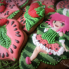 Watermelon little girl