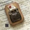 Lorena Rodríguez. Typewriter cookie