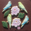 Budgies and Peonies
