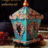 Magic lantern. Set of patterns