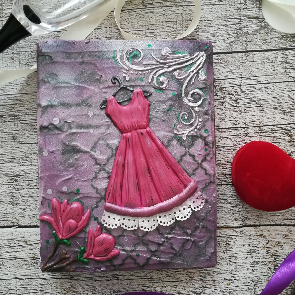 Gingerbread card for a woman