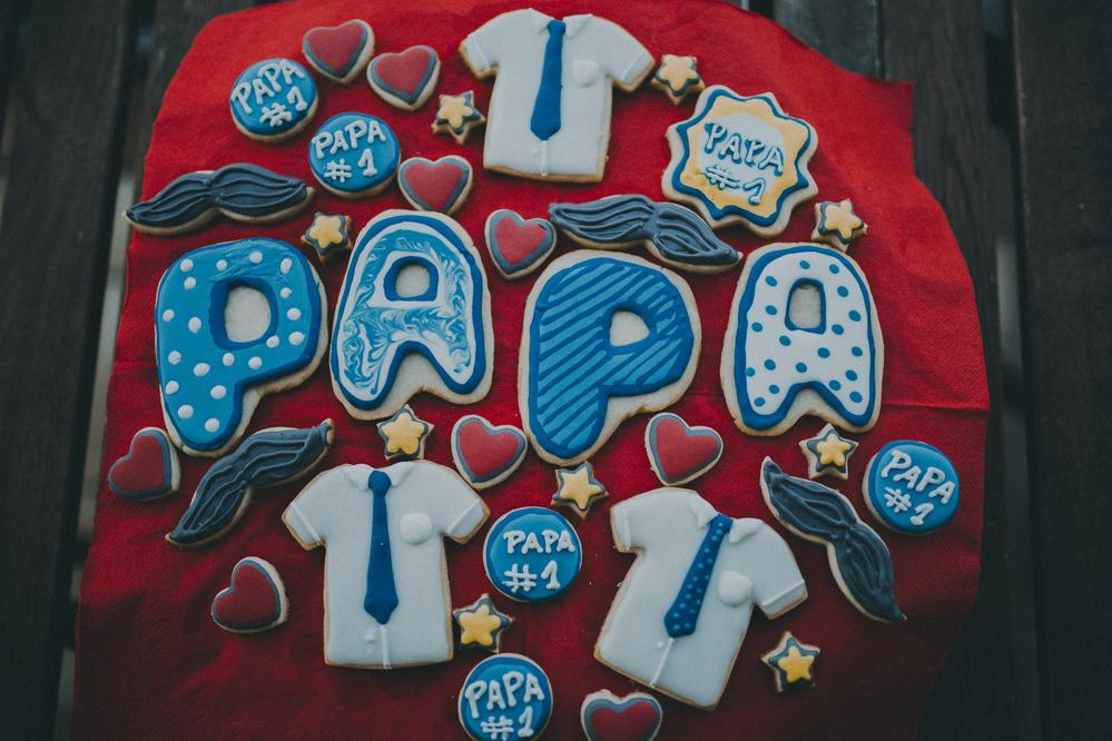 Fathers Day - Papa Kekse