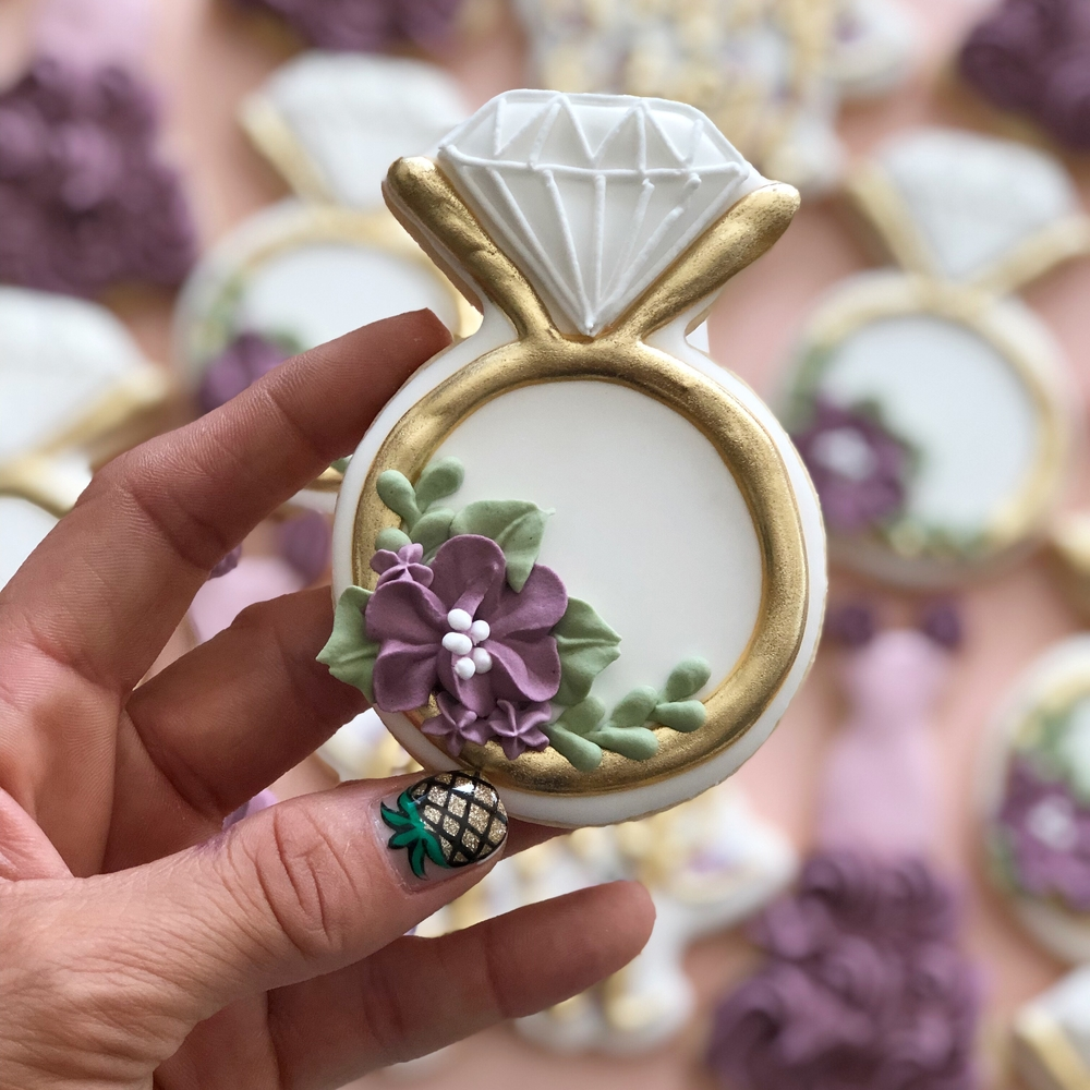 Engagement Ring Cookie