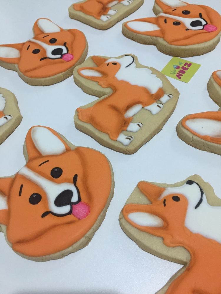Corgi cookies