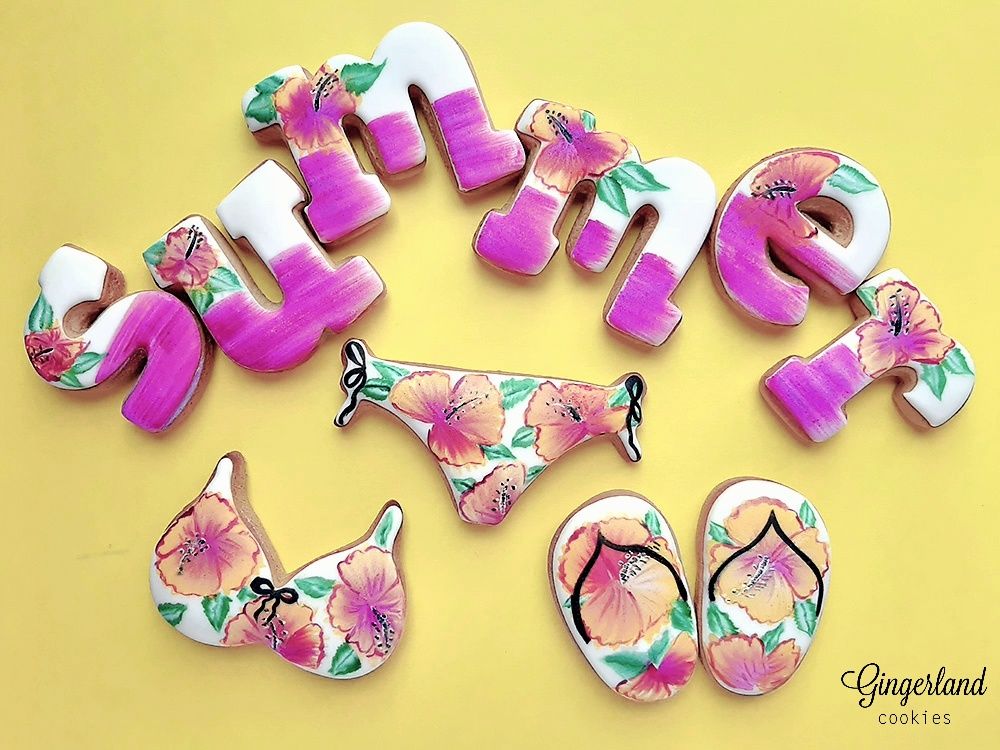 Handpainted Summer Cookies