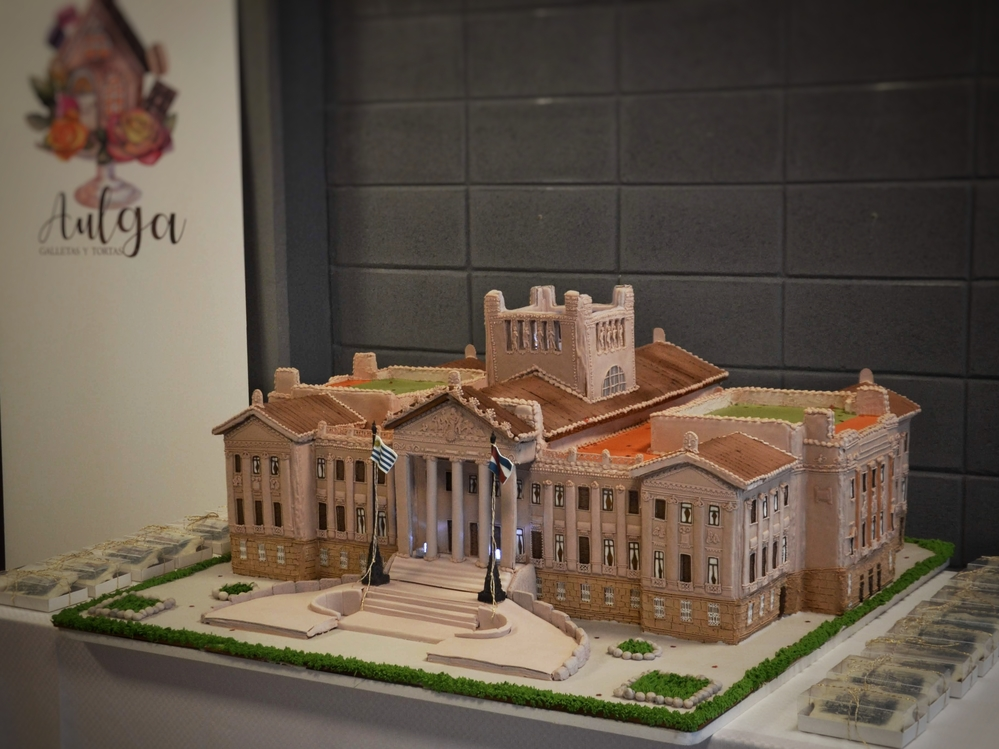 The Legislative Palace of Montevideo in Gingerbread