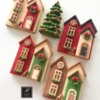 Lorena Rodríguez. Christmas houses . Christmas cookies