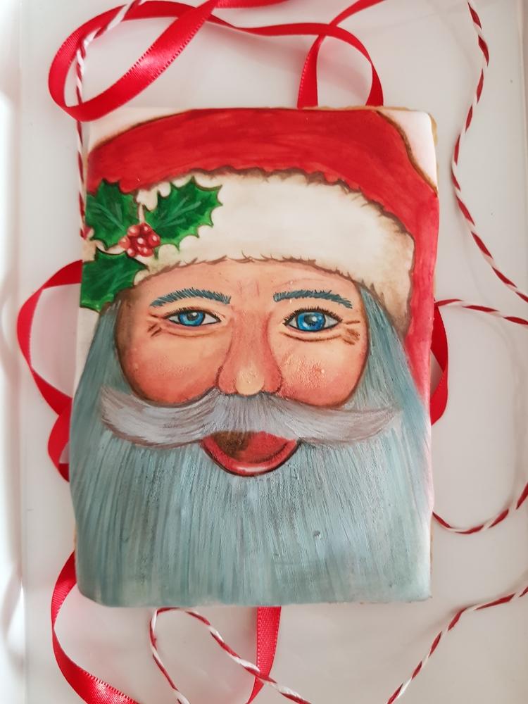 Handpained Santa