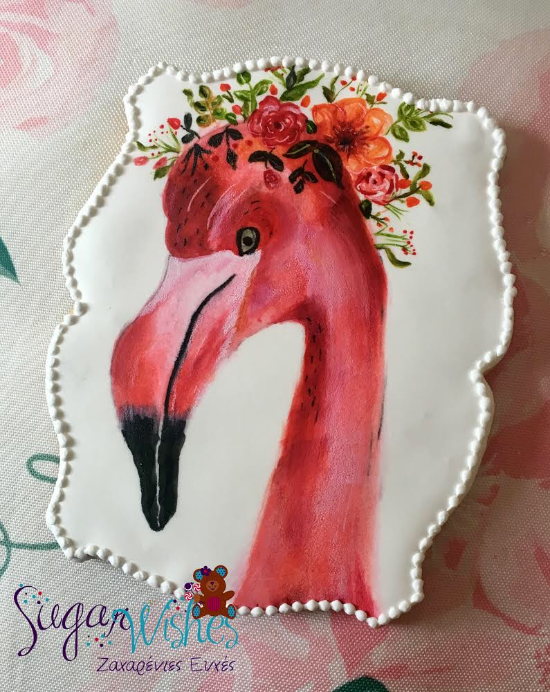 Let's Make Art Flamingo Tutorial