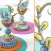 3-D Folk Art Bird Nest Cookies by Julia M Usher