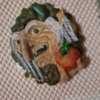 Decorated Witch Cookie - All Painted Royal Icing (View 1)