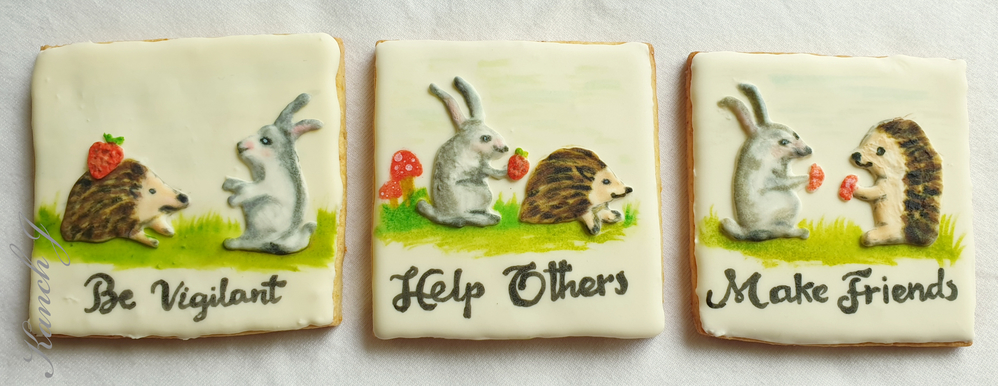 Story with Three Cookies