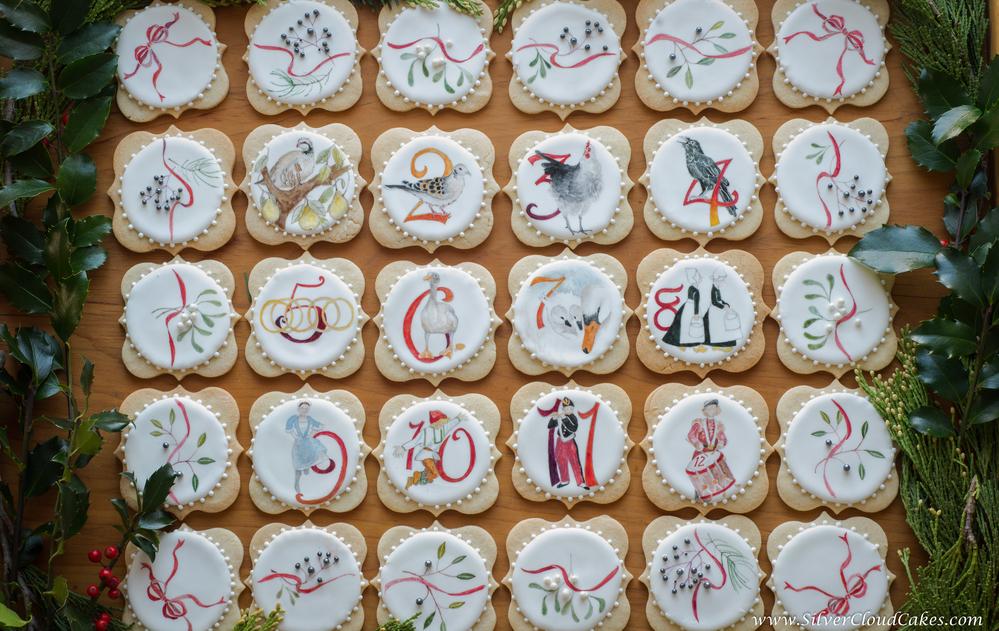 Twelve Days of Christmas for Site Art