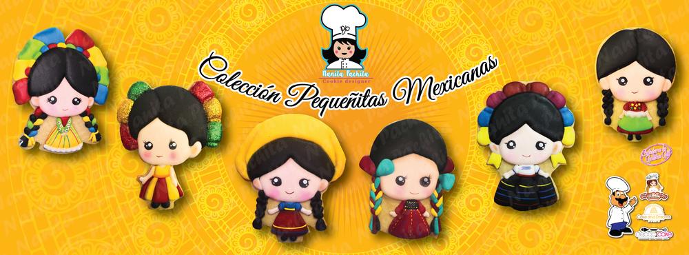 Coleccion Pequeñitas Mexicanas