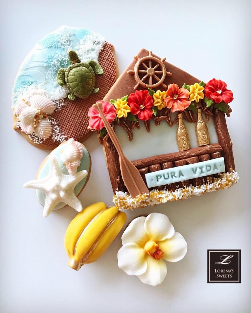 Lorena Rodríguez. Summer cookies
