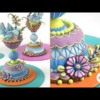 3-D Folk Art Bird Nest Cookie - Part 2: Assembly