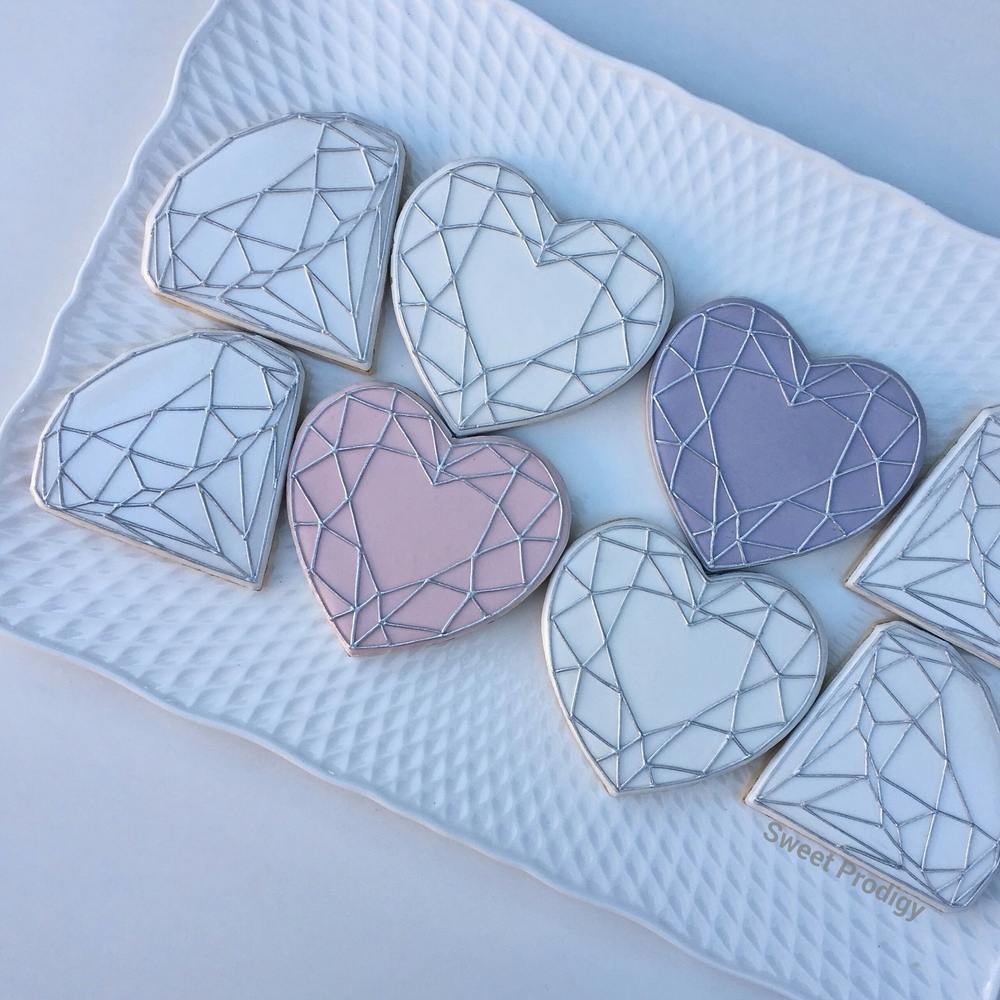 Geometric Hearts & Diamonds | Sweet Prodigy
