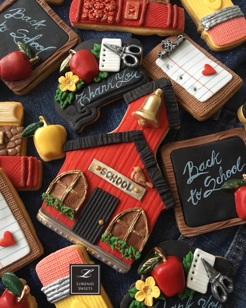 Lorena Rodríguez. Back to School cookies