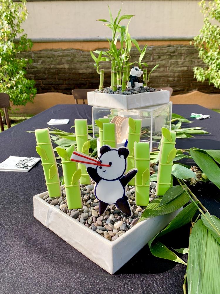 Panda-Themed Birthday Cookies