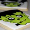 Frankenstein Halloween Sugar Cookie 2019