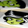 The Bride of Frankenstein Halloween Sugar Cookie 2019