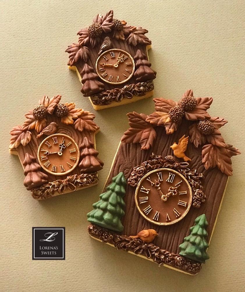 Cuckoo Clock Cookies. Lorena Rodríguez.