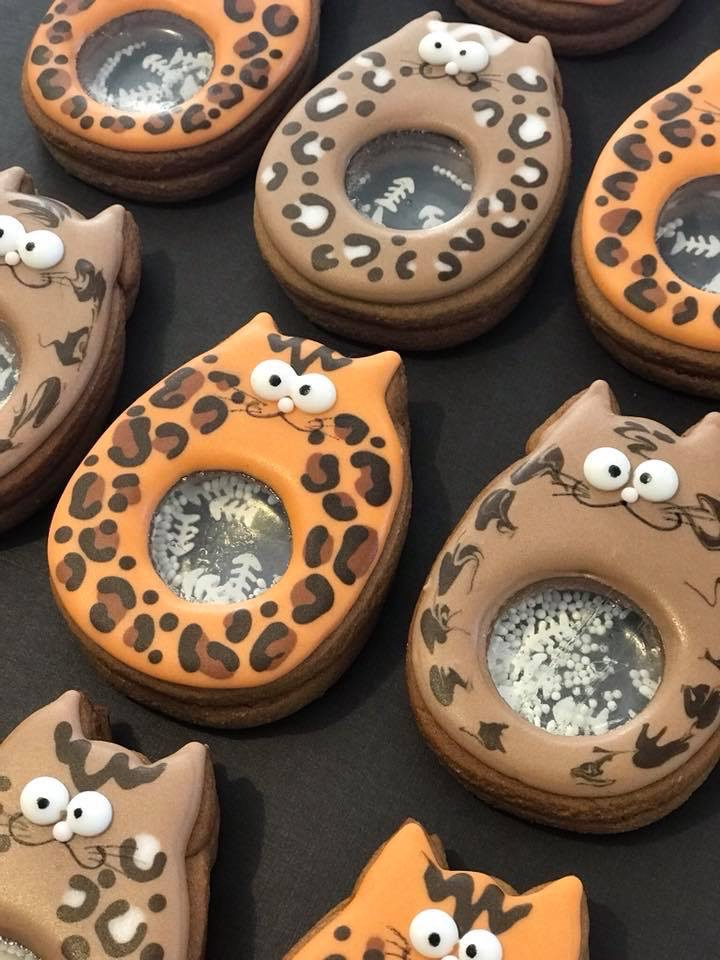 Cat Shaker Cookies - By Wicked Cakes