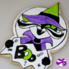Boo Kitty Halloween Sugar Cookie