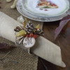 3-D Woodland Cookie Napkin Ring