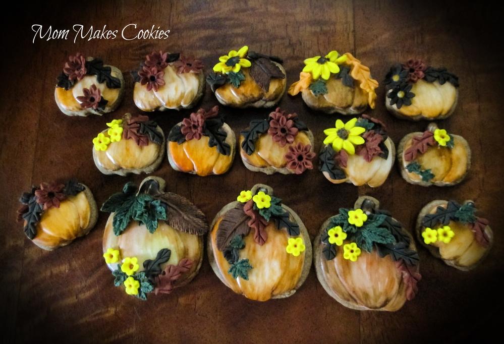 Pumpkins Adorned