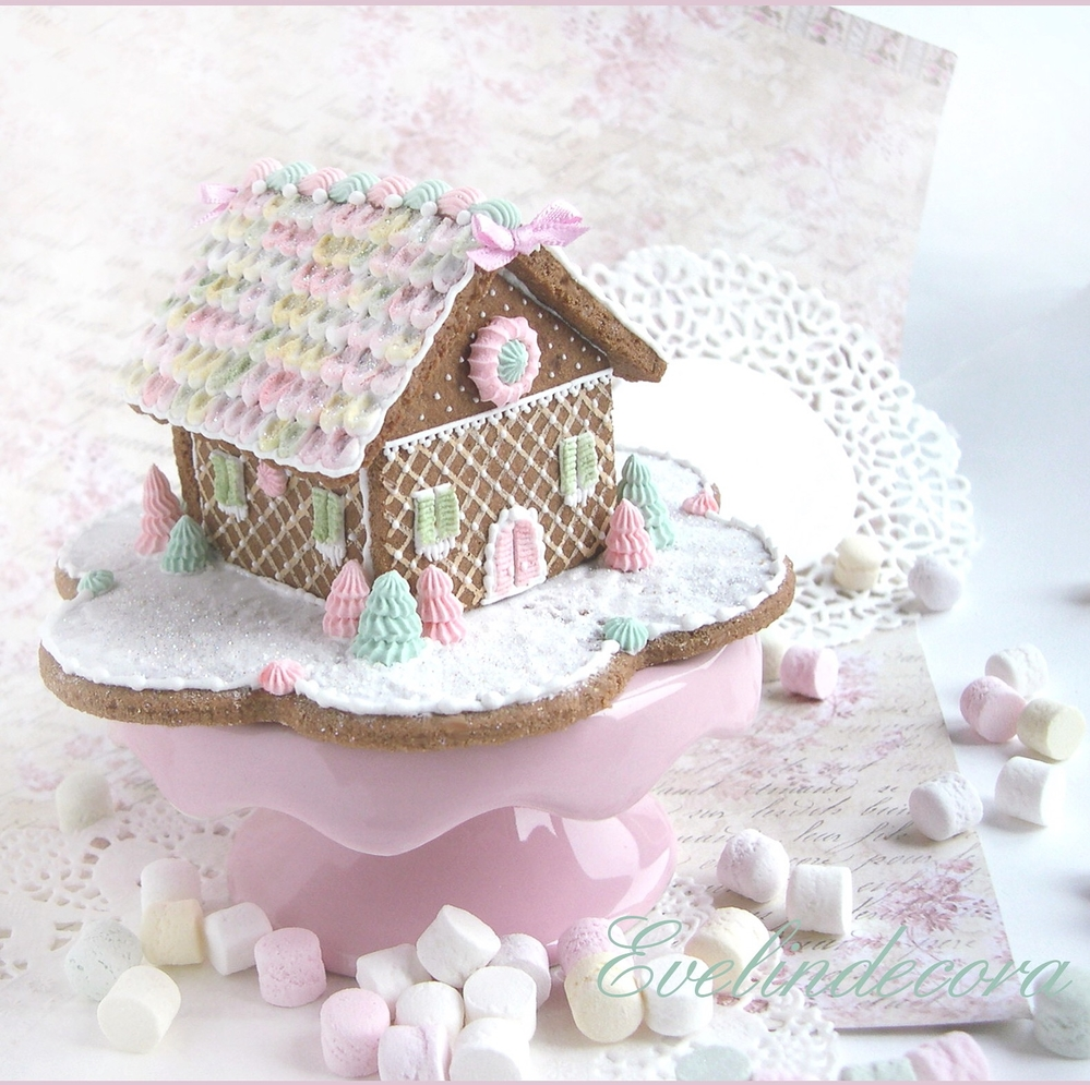 """Home Sweet Home"" Mini Gingerbread House"