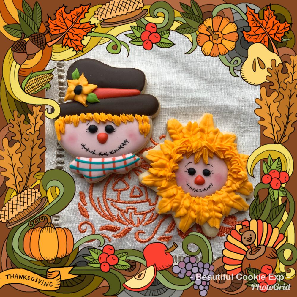 Fall Scarecrows