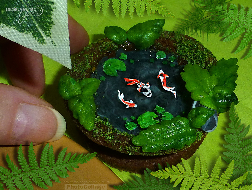 Mini Goldfish Pond by Icingsugarkeks