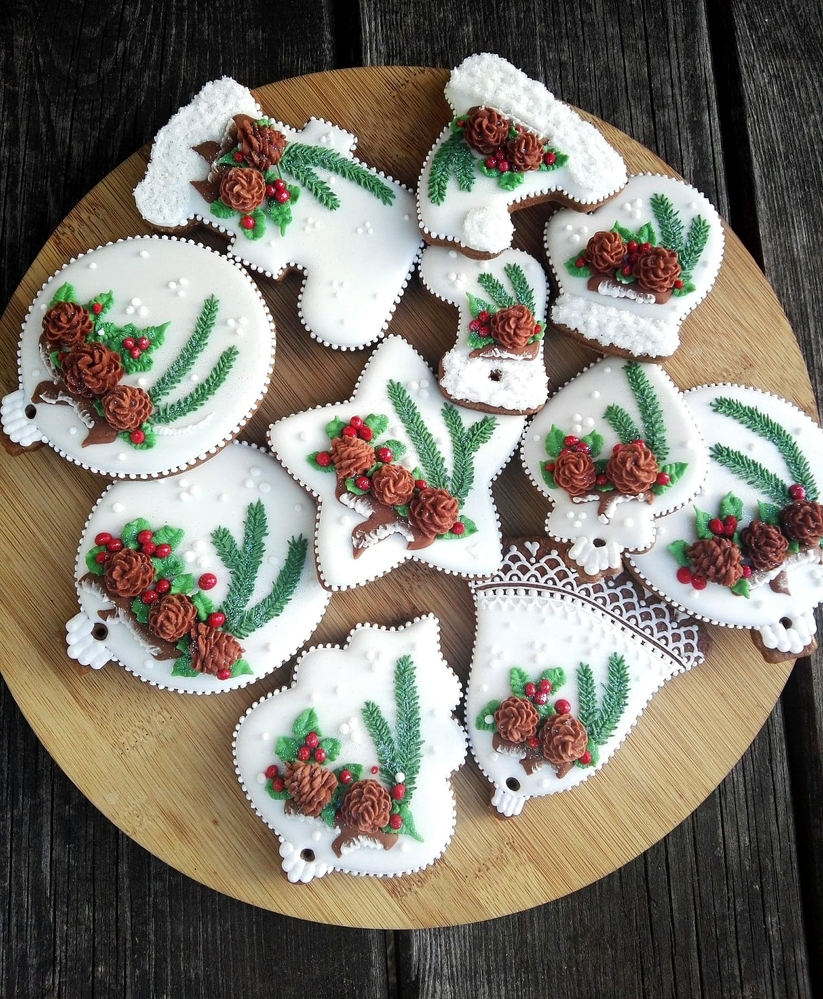 Pierniki na Choinkę (aka Gingerbread Christmas Tree Ornaments)