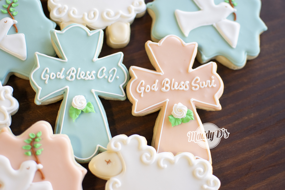 Baptism Cookies