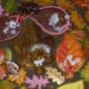 festive leaves 3: icingsugarkeks