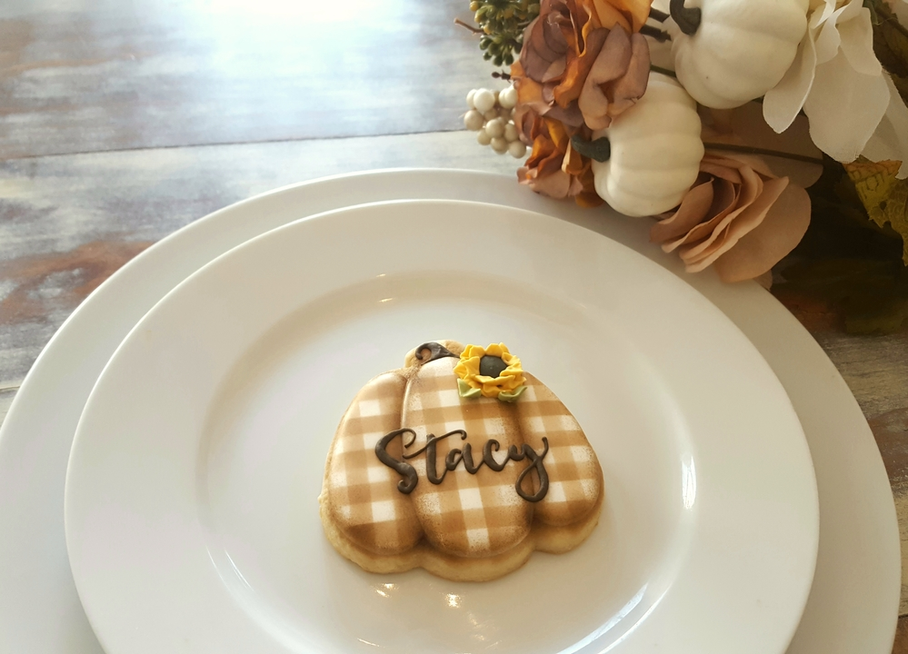Place Setting Cookies