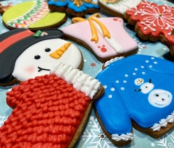 Chrstmas Cookies set Dani Matos